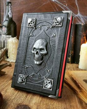 The necromancer's Grimoire - Silver edition by MilleCuirs