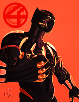 B Is For Black Panther by MatthewRoyale