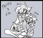 Father and son -flashback- by Freakly-Show