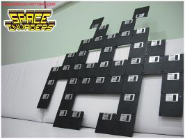 Space Invaders at home by SubDooM