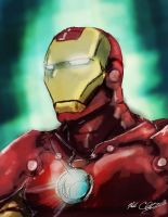 Iron man by Mark-Clark-II
