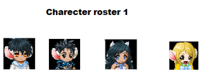 Charecter Roster 1 by twixthepichu