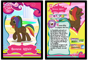 Havana Affair trading card by Shokka-chan