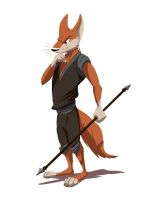 Fighting Fox (Character Design) by Temiree
