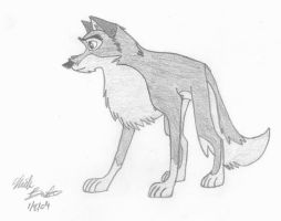 Balto the Wolf-Dog by skipshark773