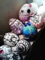 Decorative eggs, once again. by Chynna97