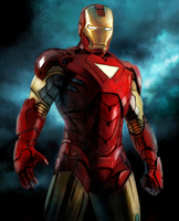 iron man by 123lulala