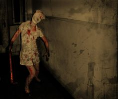 Silent Hill Nurse by LadyDeuce
