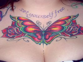 Traditional Butterfly Coverup by LunalottiRay