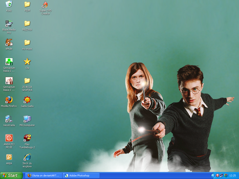 harryginnydesktop by Olunia
