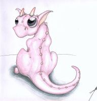 Marshmallow Dragon by Draconic-Goth