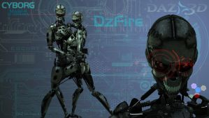 Cyborgs WP by dzfire