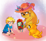 AT - Gift for little heroes part deux by Laur-