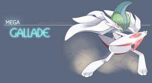 Mega Gallade - The blade master