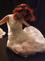 Dryer Sheet Art Dress - 2 of 2 by TwistedTextiles