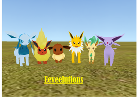 Eeveelutions (Download) by LittleMissPrickly