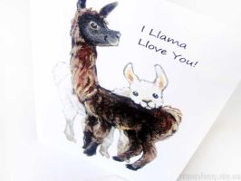 I Llama Llove You by sobeyondthis