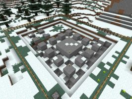 Minecraft - Inverse Square Fractal by solo-ion