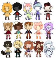 15 Adopts [CLOSED] by KillersQueens