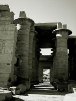 The Ramesseum_01 by Psycho287