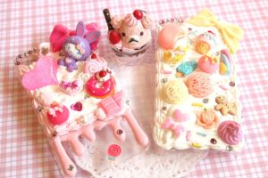 Deco-den phone cases by PastelAholic