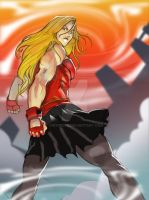 Minx: Circus Strongwoman by dwwrider