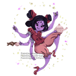 Muffet's tea party by paintingpixel