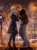 [Commission] Winter light by blanania
