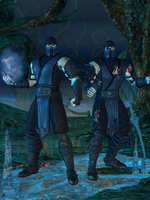 Sub-Zero Primary - Mortal Kombat 9 by romero1718
