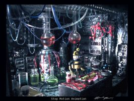 Robert's Lab Stop-motion by HannahNew