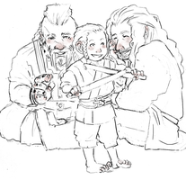Hobbit : a toddler training by LadyNorthstar