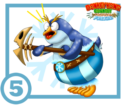 Snowmad Tuck Card #5 : Painguin Tucks by UncleLaurence