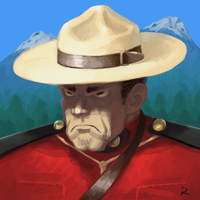 Canadian Mountie by kostellano