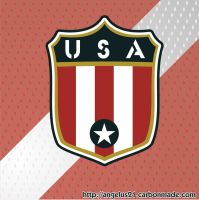 USA logo WWII concept by Dangelus21