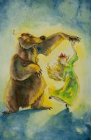 The Bear and the Maiden Fair by Puppy-Chow