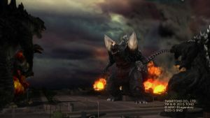 Godzilla Wars by Awesomeness360