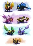 Heartless Comm 16 - Eevees by LynxGriffin