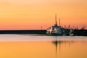 The Dusk Ferry by PortraitOfaLife
