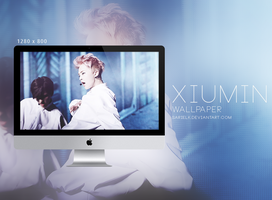 EXO Wallpaper: XIUMIN - 001 by sarielk