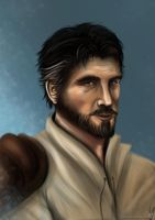 Kyle Katarn portrait by ChrispyDee