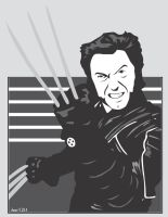 Vector Wolverine by shane613