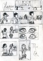 Glance: silent comic by darkwings16