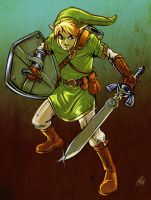 Twilight Princess Link by ChrisJamesScott
