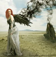 These black wings by Daystar-Art