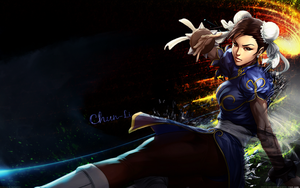 Chun-Li Wallpaper by DarkSol222