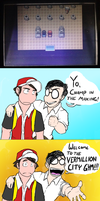Welcome to the Vermillion City Gym by Rochejii