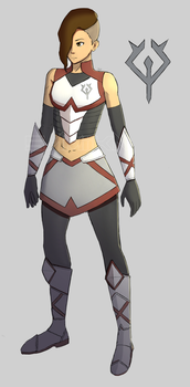 Lily - Armour Redesign by SamiiKA