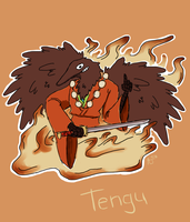 Tengu by SuperGhostDuck01