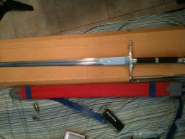 Mirai Trunks Sword by Zi-Dawg