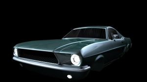 Ford Mustang Model by DaisyBisley